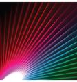 starburst effect vector image vector image
