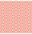 Abstract dot pattern wallpaper with stripes vector image