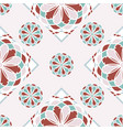 abstract geometric arabic etnic seamless pattern vector image vector image
