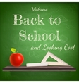 Back to school background template EPS 10 vector image vector image