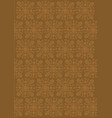balinese style texture design vector image
