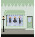 Clothing store vector image vector image