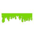 green slime liquid icon paint toxic design vector image