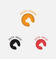 pets shop icon designcat logo abstract design vector image