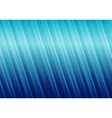 Striped blue abstract background vector image vector image