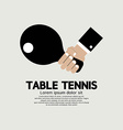 Table Tennis Indoor Sport vector image