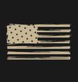 vintage american flag love america vector image