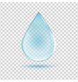 water drop image vector image