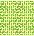 decorative seamless texture with green leaves vector image