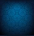 dark blue lace vector image vector image