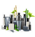 male cosmetics vector image vector image