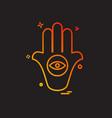 religion icon design vector image