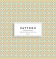 scandinavian seamless pattern fabric print design vector image vector image