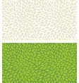seamless leaves pattern isolated background of vector image vector image