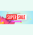 super sale week get up discount on all vector image
