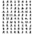 tango players 2 vector image vector image