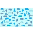 transport seamless background vector image