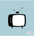 tv icon tv icon eps10 tv icon tv icon eps tv vector image vector image