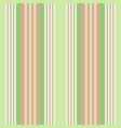 vertical green stripes print vector image vector image