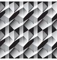 white triangular background vector image vector image