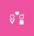 Couple Icon vector image