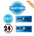 24 hours collection - - EPS10 vector image