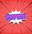 comic colorful explosive concept vector image