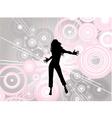 dancing female vector image vector image