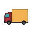 delivery truck icon image vector image vector image