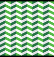 Green Chevron Seamless Pattern vector image vector image
