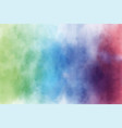 grunge dark multi color watercolor wash splash vector image vector image