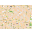 historic center mexico city street map vector image vector image