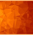 red polygonal background triangular pattern low vector image
