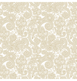 Seamless flower paisley design background vector | Price: 1 Credit (USD $1)