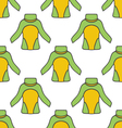 seamless pattern with thermal underwear-2 vector image vector image