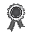 Gray Award Ribbon vector image