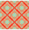 Abstract seamless vintage oriental tiled design vector image vector image