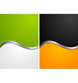 Colourful elegant waves design vector | Price: 1 Credit (USD $1)
