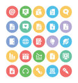 Communication Icons 3 vector image vector image