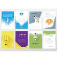 Company brochure Templates vector image vector image