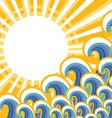 seascape image color vector image