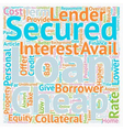 Take Finance at your Terms at Cheap Secured vector image vector image