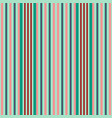 vertical red and green stripes print vector image