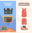 basketball championship vertical banner vector image