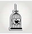 bird icon design vector image vector image