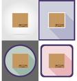 delivery flat icons 03 vector image vector image