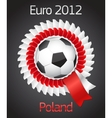 Football poland ukraine badge symbol vector | Price: 1 Credit (USD $1)