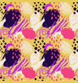 hand drawn abstract grunge seamless pattern vector image vector image