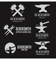 set logo badge label emblem and logotype vector image