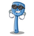 super cool spatula character cartoon style vector image vector image